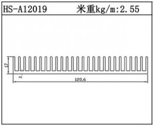 变频散热器HS-A12019