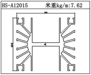 路灯散热器HS-A12015