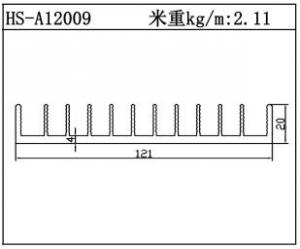 路灯散热器HS-A12009