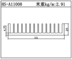 镇江散热器HS-A11008