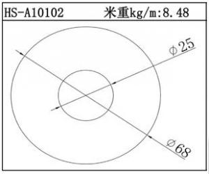 电子散热器HS-A10102