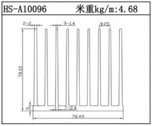 散热器铝型材HS-A10096