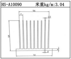电子散热器HS-A10090
