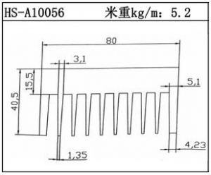 电子散热器HS-A10056