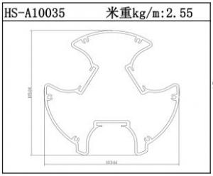 电子散热器HS-A10035