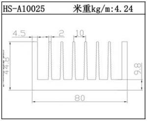 镇江散热器HS-A10025