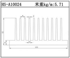 电子散热器HS-A10024