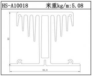 散热器铝型材HS-A10018