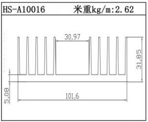 变频散热器HS-A10016
