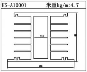 电子散热器HS-A10001